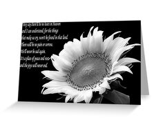 No Tears in Heaven Greeting Card