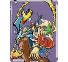 Street Fighter - Cammy and Chun Li iPad Case/Skin
