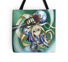 Sky Staff Battle Mage Tote Bag