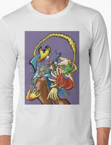 Street Fighter - Cammy and Chun Li Long Sleeve T-Shirt