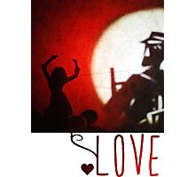 Love (version for clothing) Photographic Print