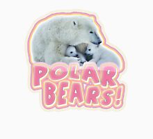 Polar Bears! Womens Fitted T-Shirt