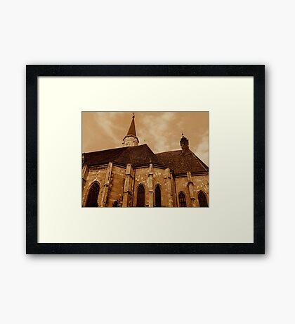Saint Michael church Framed Print