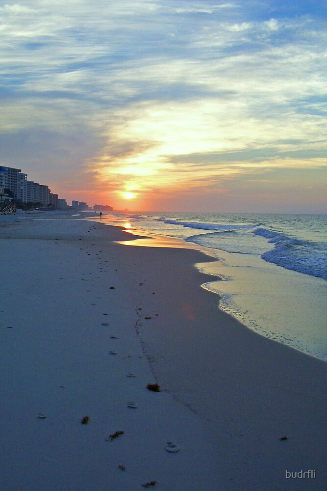 orange beach dawn by budrfli