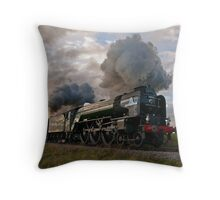 60163 Tornado & 70000 Britannia Throw Pillow
