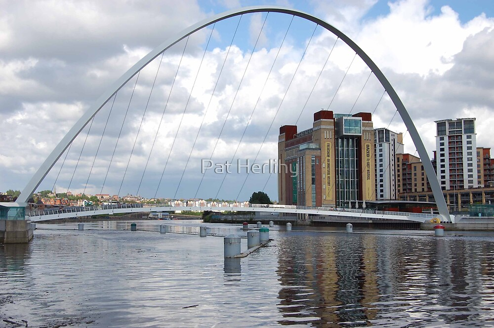 The Winking Eye, Tyneside, England by Pat Herlihy