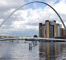 The Winking Eye, Tyneside, England by Pat Herlihy