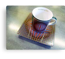 M is for MUG Canvas Print
