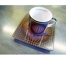 M is for MUG Photographic Print