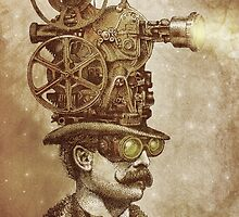 The Projectionist (sepia option) by Eric Fan