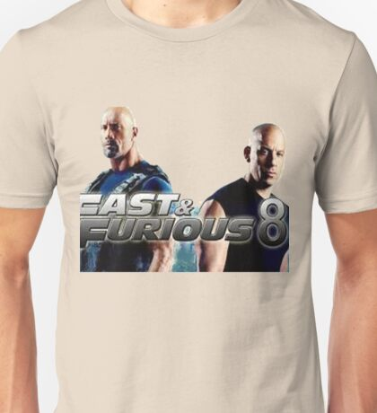 f8 and fast Unisex T-Shirt