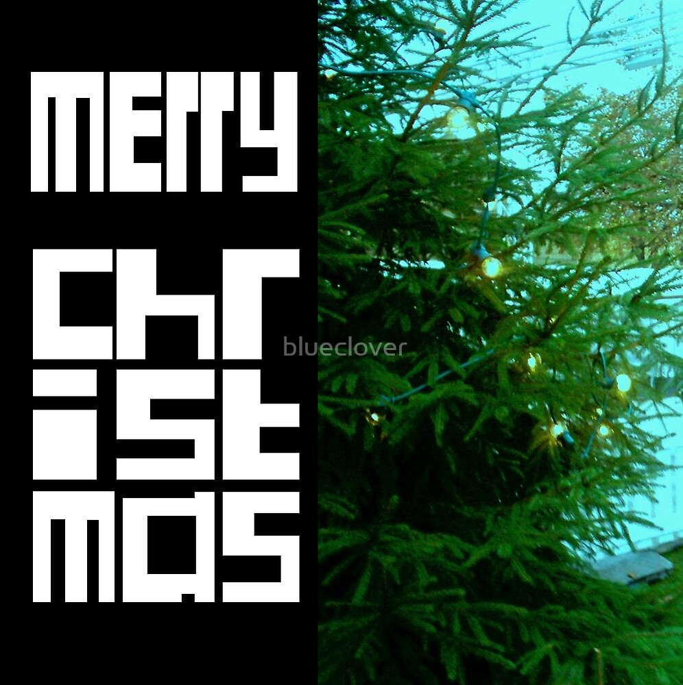Christmas card 1 by blueclover