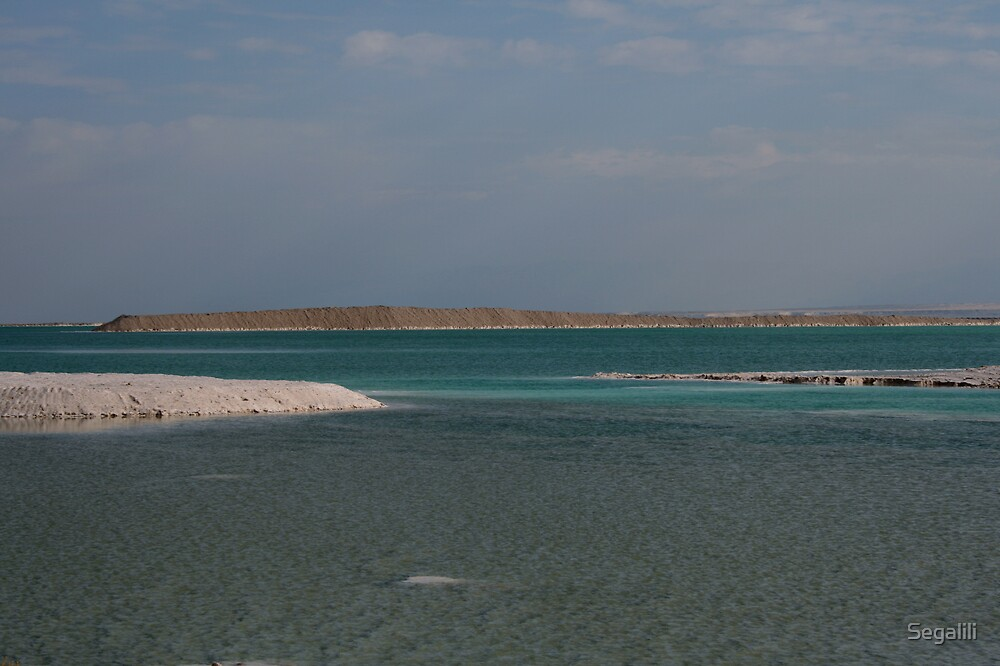Colors of the Dead Sea by Segalili