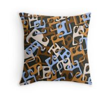 Approximative Faces KS39 Throw Pillow