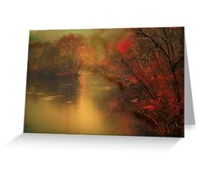 surrounding atmosphere Greeting Card