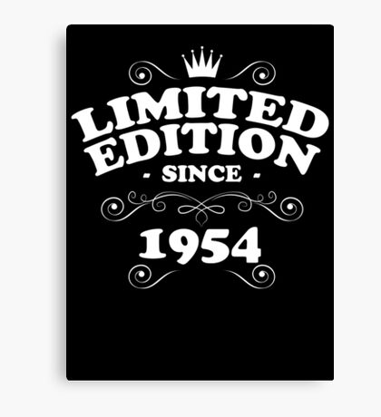 Limited edition since 1954 Canvas Print