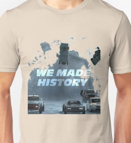 f8 we mad history Unisex T-Shirt