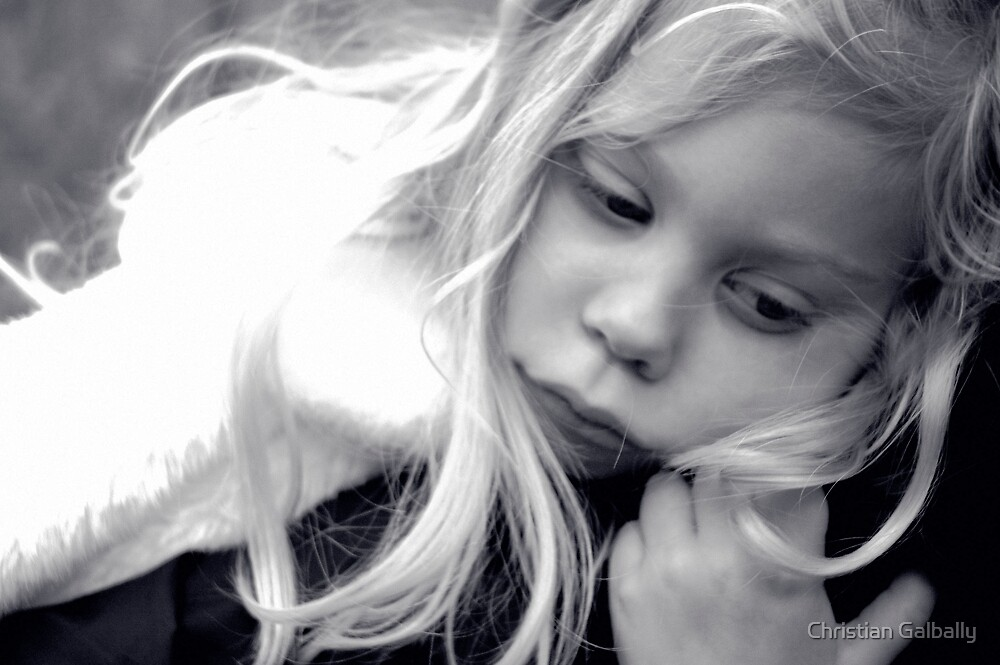 Little Esme. by Christian Galbally