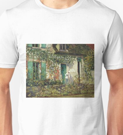Frederick Carl Frieseke - The House In Giverny Unisex T-Shirt