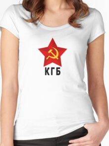 КГБ Women's Fitted Scoop T-Shirt