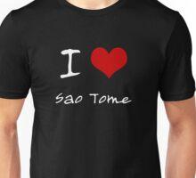 I love Heart Sao Tome Unisex T-Shirt