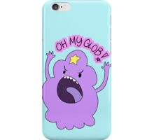 "Adventure Time - Lumpy Space Princess ""Oh My Glob!"" iPhone Case/Skin"