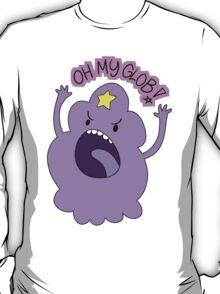 "Adventure Time - Lumpy Space Princess ""Oh My Glob!"" T-Shirt"