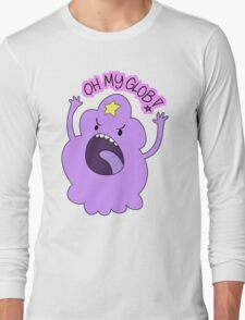 "Adventure Time - Lumpy Space Princess ""Oh My Glob!"" Long Sleeve T-Shirt"