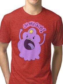"Adventure Time - Lumpy Space Princess ""Oh My Glob!"" Tri-blend T-Shirt"