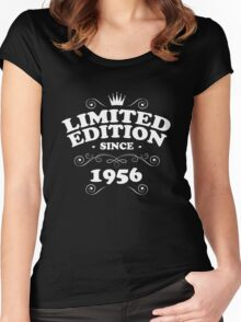 Limited edition since 1956 Women's Fitted Scoop T-Shirt