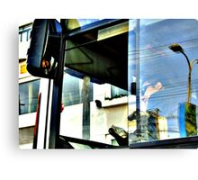 Bus Driver Canvas Print