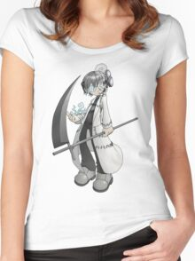Soul Eater - Stein and Spirit Women's Fitted Scoop T-Shirt