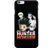 Hunter X Hunter: Gon, Killua, Kurapika, Leorio iPhone Case/Skin