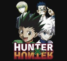 Hunter X Hunter: Gon, Killua, Kurapika, Leorio by KaitoHxH
