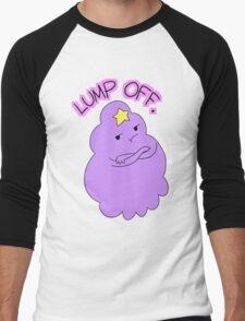 "Adventure Time - Lumpy Space Princess ""Lump Off"" Men's Baseball ¾ T-Shirt"