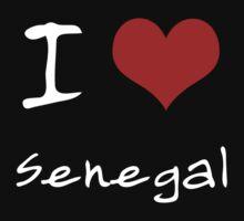 I love Heart Senegal Kids Tee