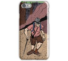 Hiking Up Freel Peak iPhone Case/Skin