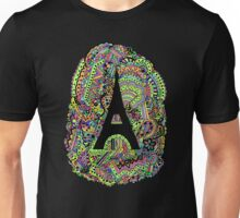 Paris: Screaming Colour Unisex T-Shirt