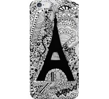 Paris: The World Was Black And White iPhone Case/Skin