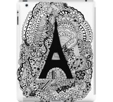 Paris: The World Was Black And White iPad Case/Skin