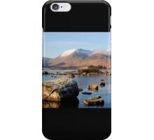 Lochan na h-Achlaise, Rannoch Moor iPhone Case/Skin