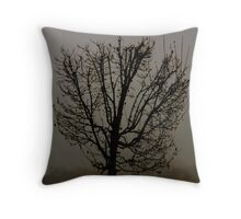 Fog Lifting Throw Pillow
