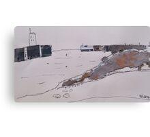 seahouses Canvas Print
