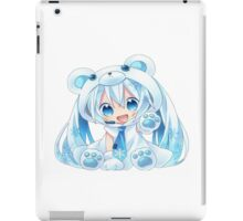 Chibi Snow Miku! iPad Case/Skin