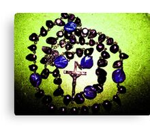 my rosary Canvas Print