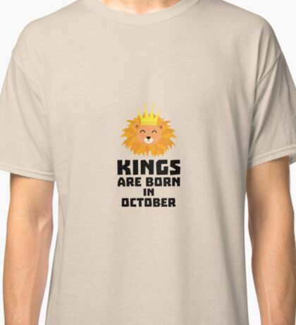 Kings are born in OCTOBER Rzx1p Classic T-Shirt