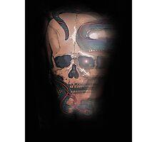 snake skull Photographic Print