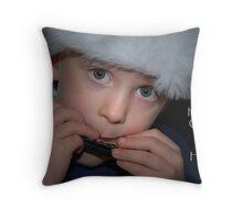 Harmonious Christmas Throw Pillow