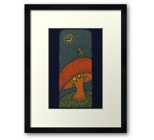 Ponder Bear Framed Print