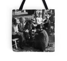 Courthouse Square Manchester Tennessee Tote Bag